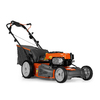 Husqvarna 175-cc 22-in Self-Propelled Rear Wheel Drive 3 in 1 Gas Push Lawn Mower with Briggs & Stratton Engine and Mulching Capability