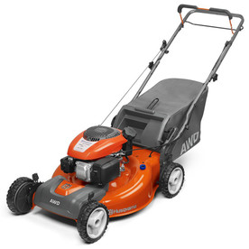 Husqvarna 149cc 22-in Self-Propelled 3-in 1 Gas Push Lawn Mower with Kohler Engine and Mulching Capability