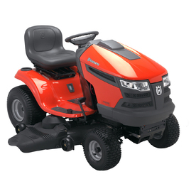 Husqvarna V-Twin Hydrostatic 48-in Riding Lawn Mower with Briggs &amp; Stratton Engine