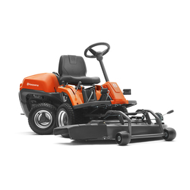 Husqvarna 19.5-HP Hydrostatic 42-in Riding Lawn Mower with Briggs & Stratton Engine