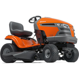Husqvarna 22 HP V-Twin Hydrostatic 42-in Riding Lawn Mower