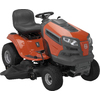 Husqvarna 23-HP V-Twin Hydrostatic 48-in Riding Lawn Mower with Briggs & Stratton Engine