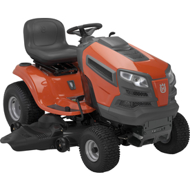 Husqvarna 23 HP V-Twin Hydrostatic 48-in Riding Lawn Mower with Briggs &amp; Stratton Engine (CARB)