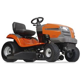 Husqvarna 18.5 HP Single Cylinder Hydrostatic 38-in Riding Lawn Mower