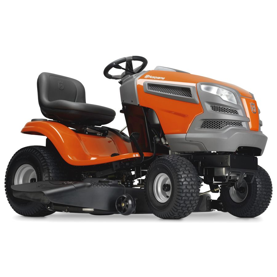 Shop Husqvarna Yth18k46 18 5 Hp V Twin Hydrostatic 46 In