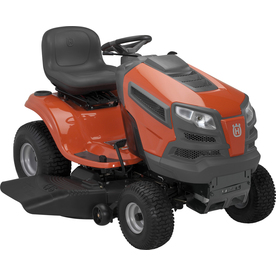 Husqvarna YTH22V46 (Carb) 22 HP V-Twin Hydrostatic 46-in Riding Lawn Mower with Briggs &amp; Stratton Engine (CARB)