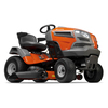 Husqvarna YTH24V48 V-Twin Hydrostatic 48-in Riding Lawn Mower with Briggs & Stratton Engine and Mulching Capable
