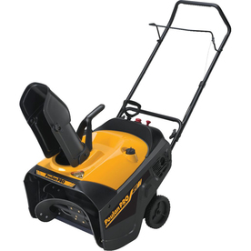 Poulan Pro 208-cc 21-in Single-Stage Electric Start Gas Snow Blower