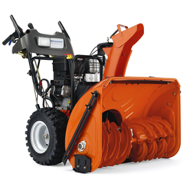 Husqvarna 414-cc 30-in Two-Stage Electric Start Gas Snow Blower with Headlight