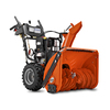 Husqvarna 249-cc 24-in Two-Stage Electric Start Gas Snow Blower with Heated Handles and Headlight