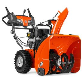 Husqvarna 208cc 24-in Two-Stage Electric Start Gas Snow Blower with Heated Handles and  Headlights