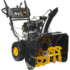 Poulan Pro 208cc 27-in Two-Stage Electric Start Gas Snow Blower with Headlights