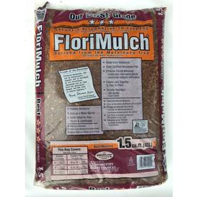 FloriMulch 1.5 Cu. Ft. Brown Organic Mulch