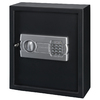 Stack-On Personal Drawer/Wall Safe with Electronic Lock, 1 shelf