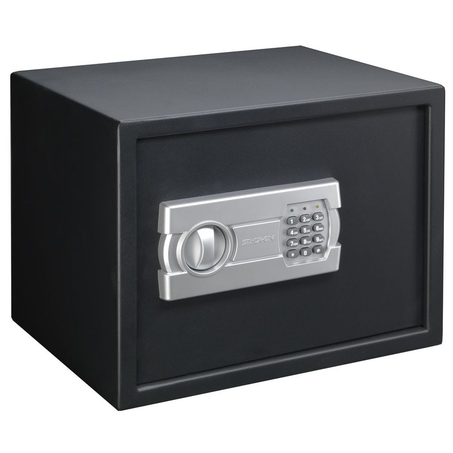 Shop stack on electronic keypad gun safe at lowes com