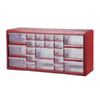 Stack-On 22-Drawer Red Plastic