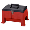 Stack-On 20-in Red Step'n Store Step Stool