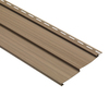  8-in x 150-in Chestnut Traditional Vinyl Siding