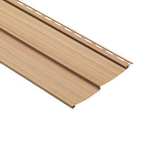10-in x 120-in Oak Traditional Vinyl Siding Panel