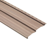  9-in x 121-in Cherry Dutch lap Vinyl Siding