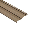 9-in x 121-in Chestnut Dutch lap Vinyl Siding