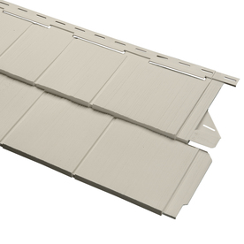 14-in x 67-1/2-in Almond Vinyl Siding