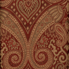 Style Selections Raja 16-in Paprika Polyester Rod Pocket Valance