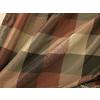 allen + roth Emilia 84-in L Striped Rust Back Tab Window Curtain Panel