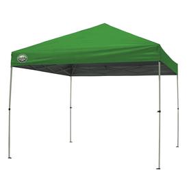 Shade Tech 8-ft W x 10-ft L Rectangular Green Steel Pop-Up Canopy