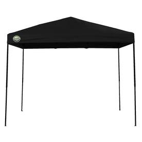 Shade Tech 8-ft W x 10-ft L Retangular Black Steel Pop-Up Canopy