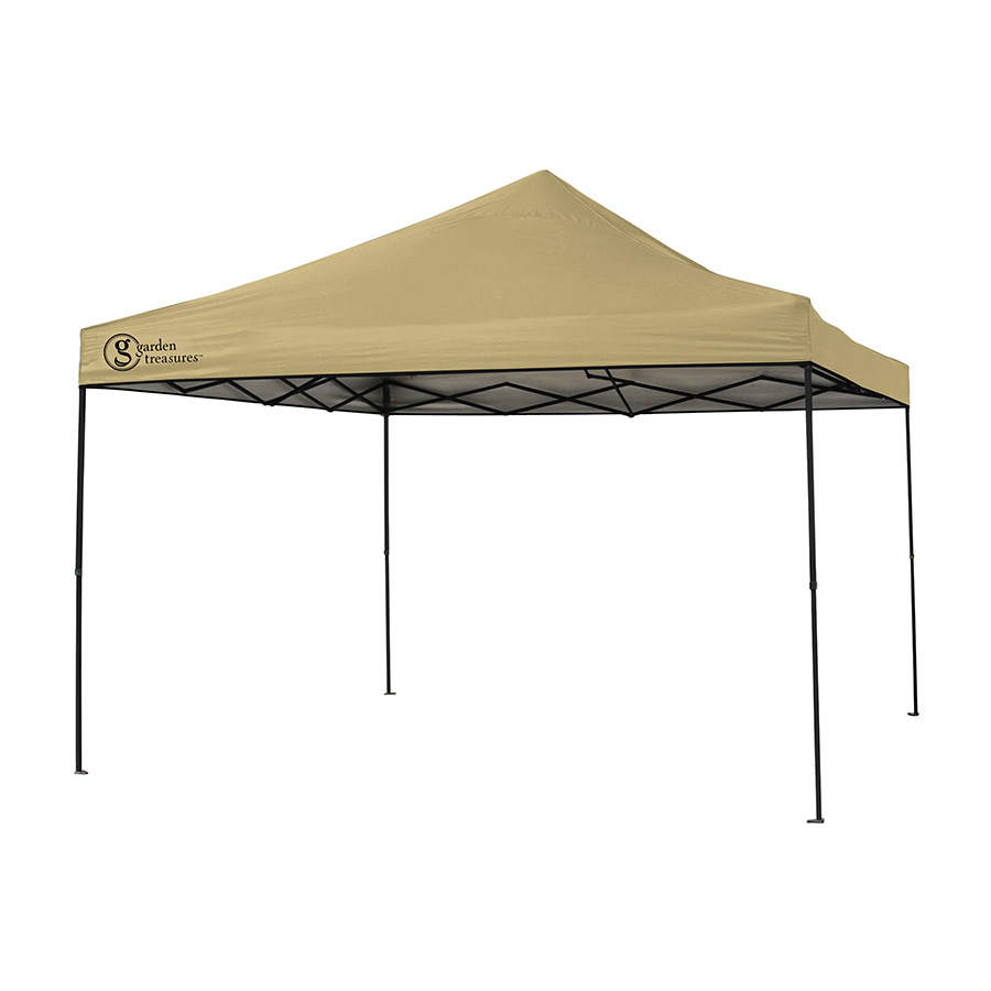 Backyard Canopy Lowes : Garden Treasures 12 Ft X 12 Ft Square Hardtop Gazebo Lowe S Canada