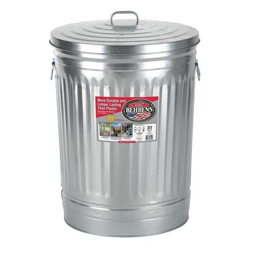 Aluminum trash can faraday cage