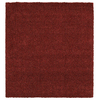 Mohawk Home Perry Shag Red 96-in x 96-in Square Red/Pink Transitional Area Rug