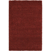 Mohawk Home Perry Shag 8-ft x 10-ft Rectangular Red Transitional Area Rug