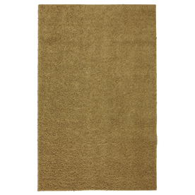 Mohawk Home Piper Shag 5-ft x 8-ft Rectangular Tan Transitional Area Rug