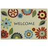 Mohawk Home 27-in x 18-in Multicolor Rectangle Door Mat