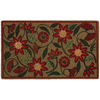 Mohawk Home 30-in x 18-in Multicolor Rectangle Door Mat