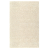 Mohawk Home Piper Shag Cream 60-in x 96-in Rectangular Cream/Beige/Almond Transitional Area Rug