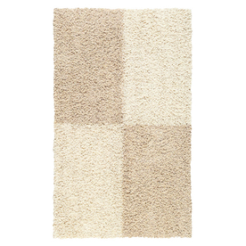 Mohawk Home 5-ft x 8-ft Beige Four Squares Area Rug