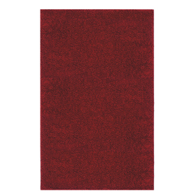 Mohawk Home Piper Shag 5-ft x 8-ft Rectangular Red Transitional Area Rug