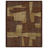 Mohawk Home River Bed 8-ft x 10-ft Rectangular Tan Transitional Area Rug
