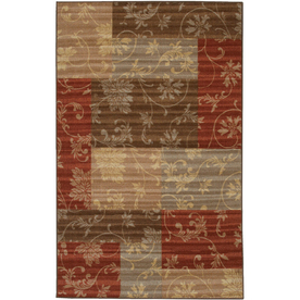 Mohawk Home Cindy 24-in x 40-in Rectangular Multicolor Accent Rug