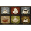 "Style Selections 30"" x 50"" Smoke Blue Coffee Choices Accent Rug"