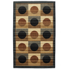 Mohawk Home Harper Geometric 5-ft x 8-ft Rectangular Tan Geometric Area Rug