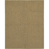 Mohawk Home Hopper Basket Tan 60-in x 84-in Rectangular Brown/Tan Transitional Area Rug