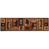 Mohawk Home Westland Dark Brown Rectangular Indoor Woven Runner (Common: 2 x 8; Actual: 25-in W x 94-in L)