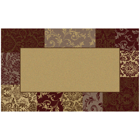 Mohawk Home Rectangular Tufted Throw Rug (Common: 2 x 4; Actual: 30-in W x 50-in L)