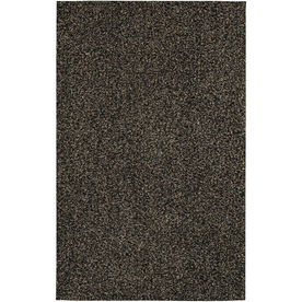 Mohawk Home Perry Shag Brown Black Rectangular Indoor Tufted Area Rug (Common: 8 x 10; Actual: 96-in W x 120-in L x 0.5-ft Dia)