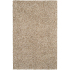 Mohawk Home Kodiak Buckskin Shag Ivory Rectangular Indoor Tufted Area Rug (Common: 8 x 10; Actual: 96-in W x 120-in L x 0.5-ft Dia)