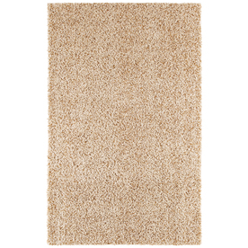 Mohawk Home Kodiak Buckskin Rectangular Indoor Tufted Throw Rug (Common: 2 x 4; Actual: 24-in W x 40-in L)